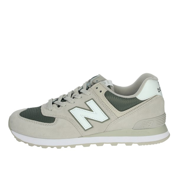 New Balance Shoes Sneakers Beige/Green ML574ESR