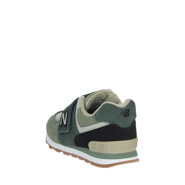 <New Balance Shoes Sneakers Dark Green IV574MLD
