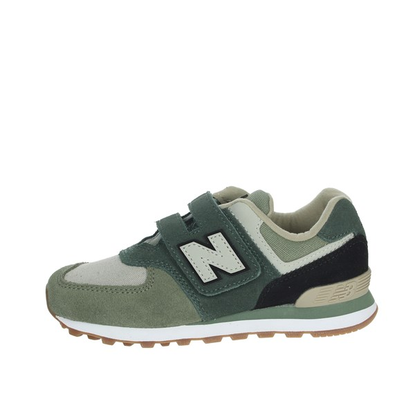 New Balance Shoes Sneakers Dark Green YV574MLD