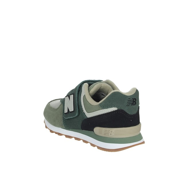<New Balance Shoes Sneakers Dark Green YV574MLD