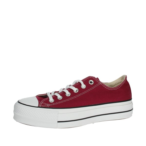 Converse Shoes Sneakers Burgundy 563496C