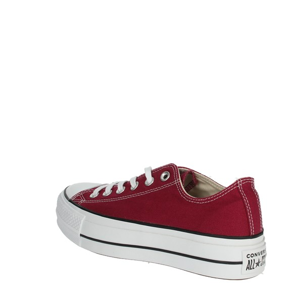 <Converse Shoes Sneakers Burgundy 563496C