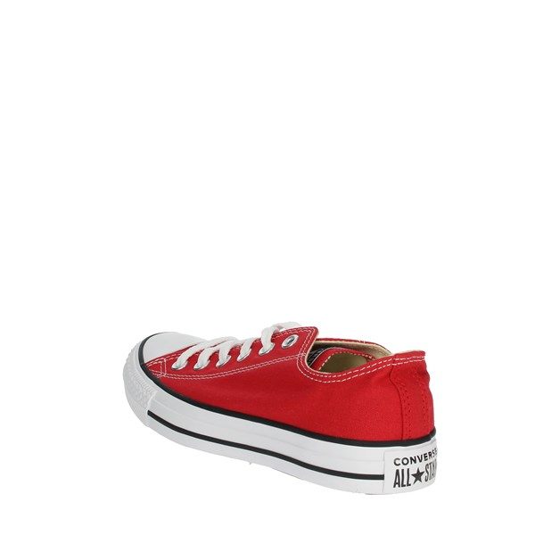 <Converse Shoes Sneakers Red M9696C