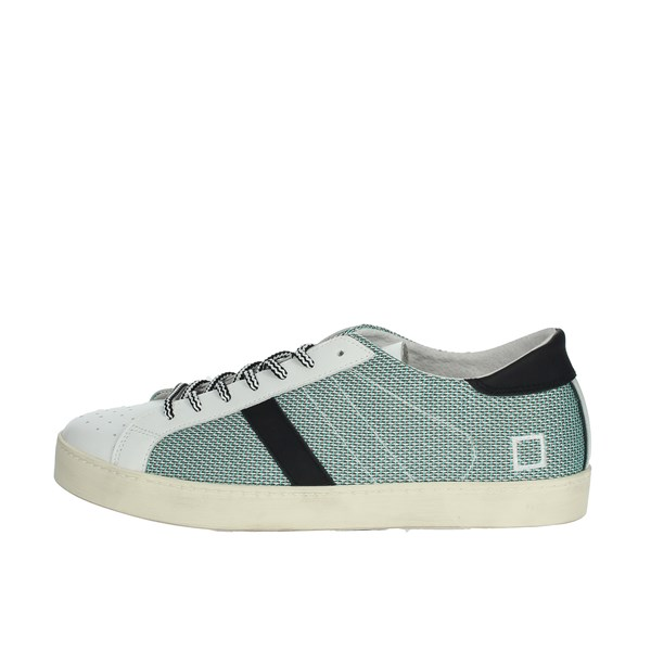 D.a.t.e. Shoes Sneakers White/Green HILL LOW-60