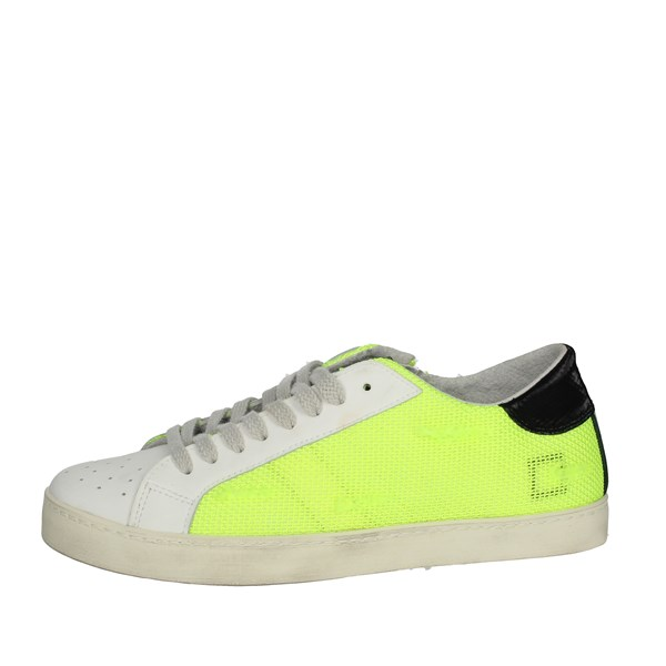 D.a.t.e. Shoes Sneakers Yellow-Fluo HILL LOW-U