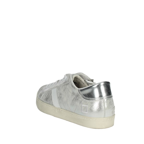 D.a.t.e. Shoes Sneakers Silver HILL LOW-V