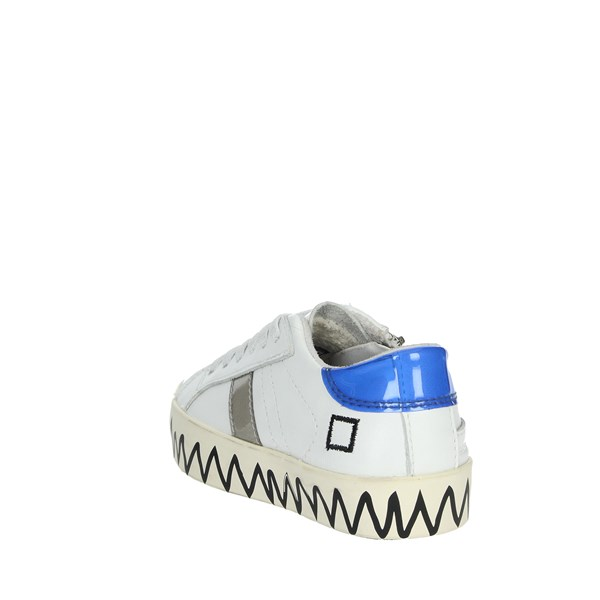 D.a.t.e. Shoes Sneakers White HILL LOW-X