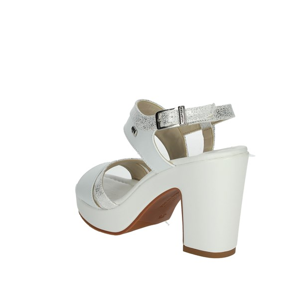 <Valleverde Shoes Sandals White 32515