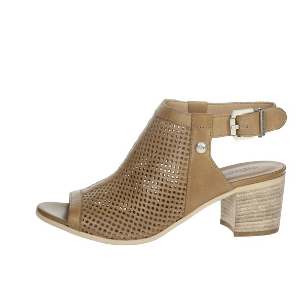 Nero Giardini Shoes Sandals Brown leather P908170D