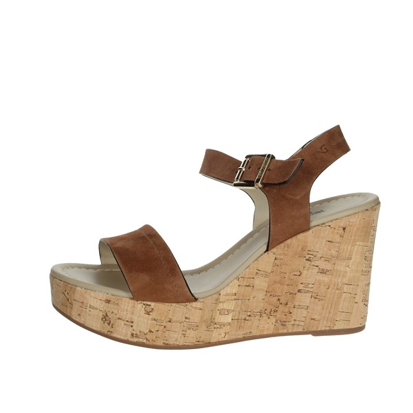 Nero Giardini Shoes Sandals Brown leather P908142D
