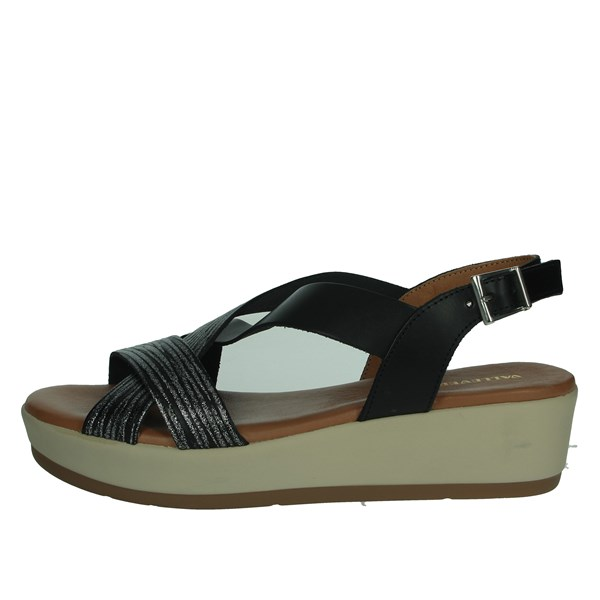 Valleverde Shoes Sandals Black 34225