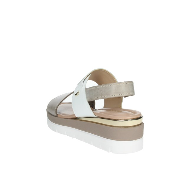 <Valleverde Shoes Sandals Brown Taupe 32362