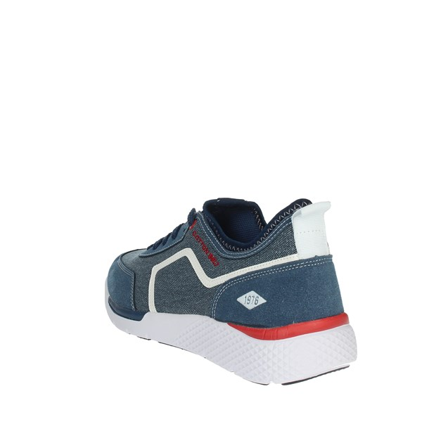 Cotton Belt Shoes Sneakers Blue OK-23