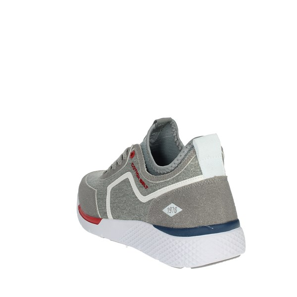 Cotton Belt Shoes Sneakers Grey OK-23