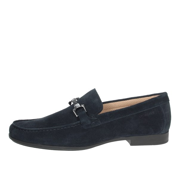 Stonefly Shoes Moccasin Blue 110601