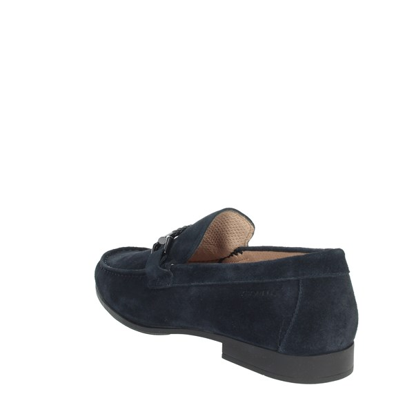 <Stonefly Shoes Loafers Blue 110601