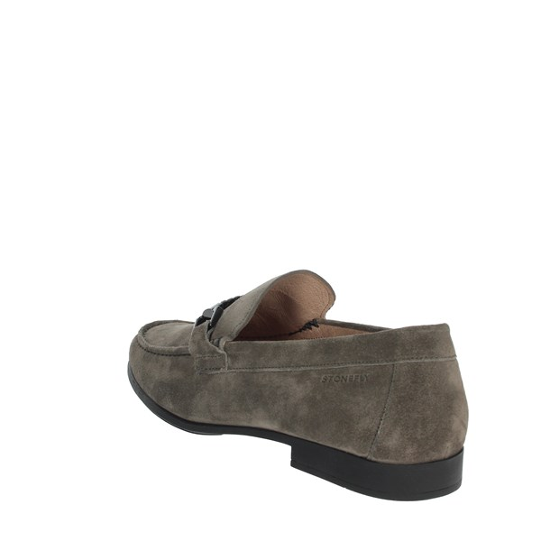 <Stonefly Shoes Loafers Grey 110601