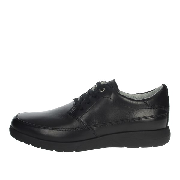 Stonefly Shoes Laced Black 108585