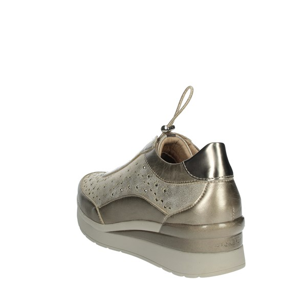 Stonefly Shoes Sneakers Platinum  210813