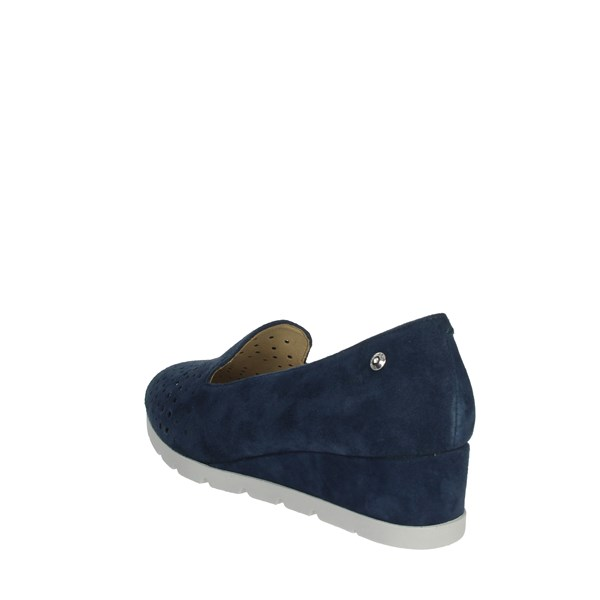 Stonefly Shoes Moccasin Blue 210839