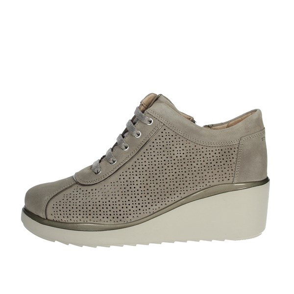 Stonefly Shoes Sneakers Brown Taupe 210821