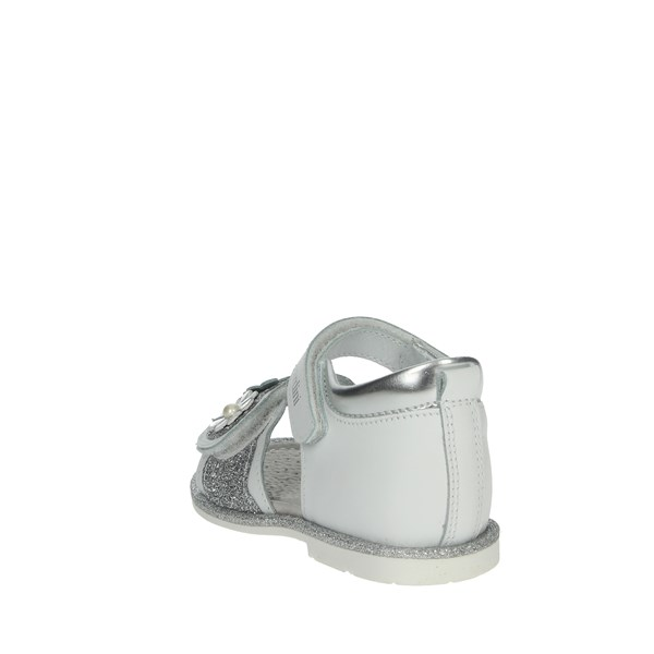 Nero Giardini Shoes Sandals White/Silver P921140F
