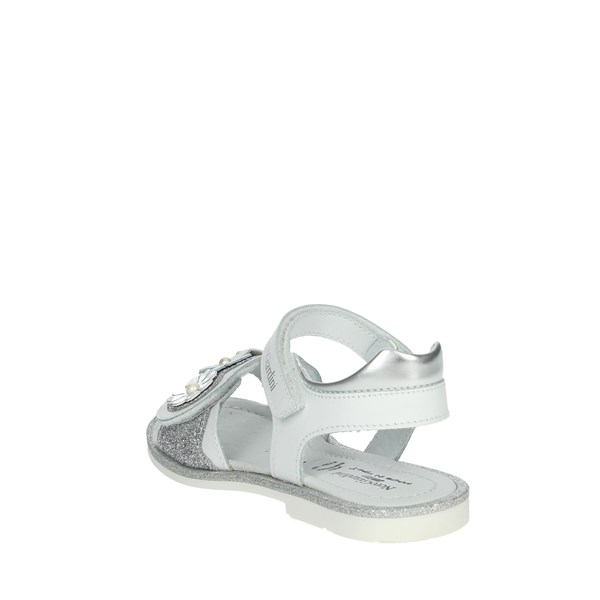 Nero Giardini Shoes Sandals White/Silver P928140F