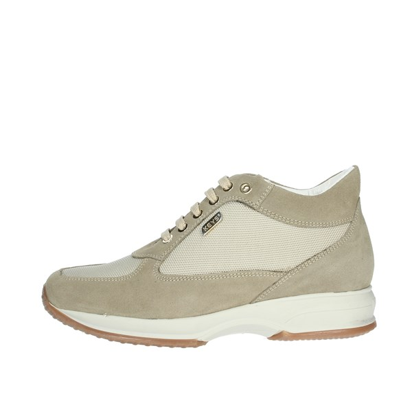 Keys Shoes Sneakers Beige 5503