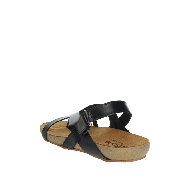 Yokono Shoes Flip Flops Black IBIZA