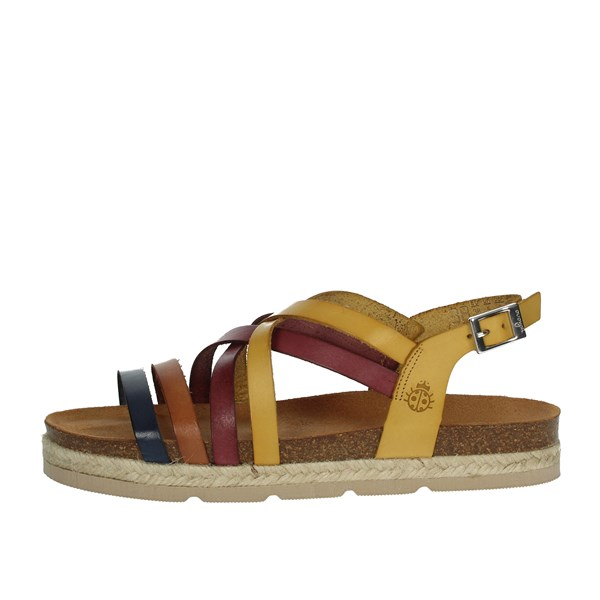 Yokono Shoes Sandals Brown leather JAVA
