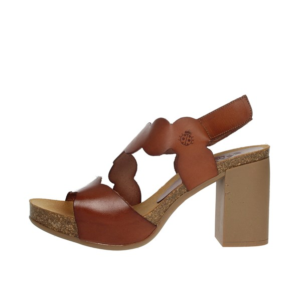 Yokono Shoes Sandals Brown leather TRIANA