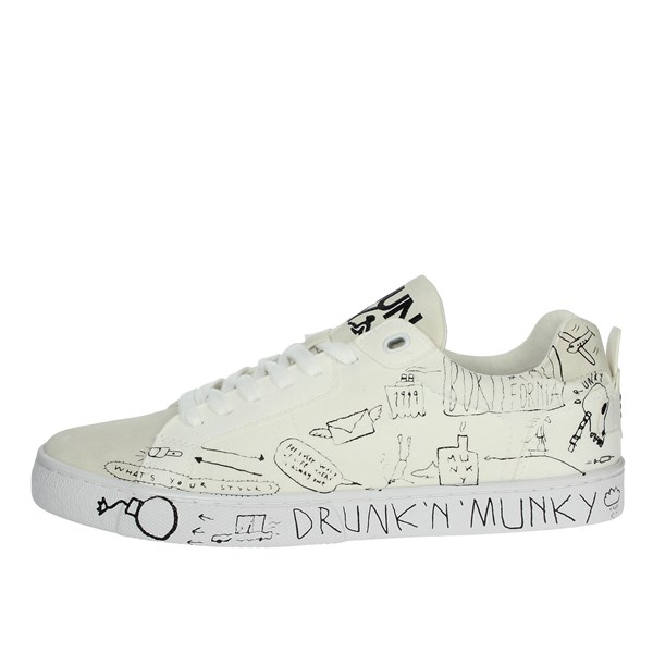 Drunknmunky Shoes Sneakers White NEW ENGLAND
