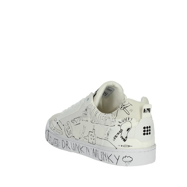 <Drunknmunky Shoes Sneakers White NEW ENGLAND