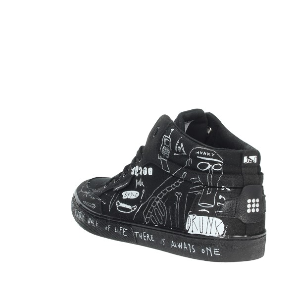 <Drunknmunky Shoes Sneakers Black BOSTON