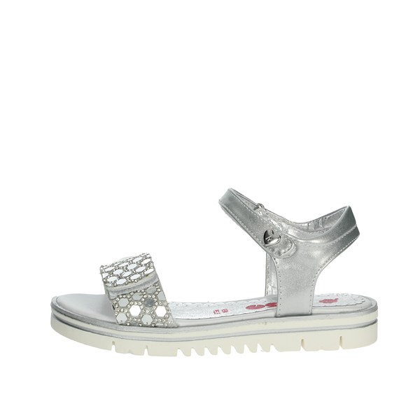 Asso Shoes Sandals Silver AG-2001