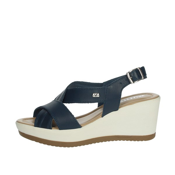 Valleverde Shoes Sandals Blue 32344