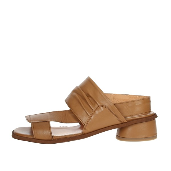 Elena Del Chio Shoes Sandals Brown leather 7803