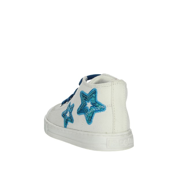 Falcotto Shoes Sneakers White/Light Blue 0012012360.02.9111