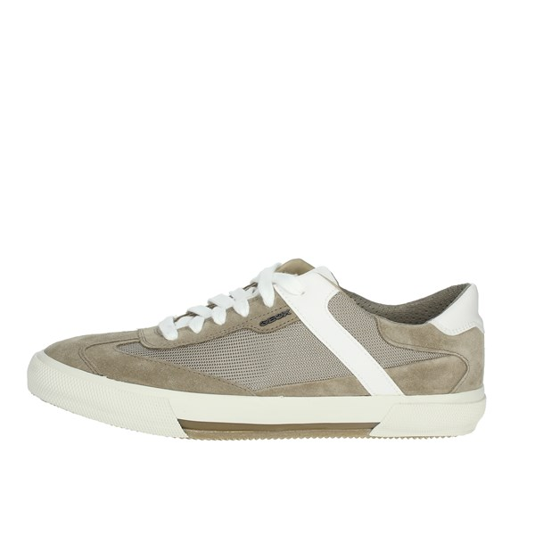 Geox Shoes Sneakers Brown Taupe U926MB