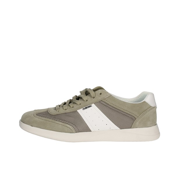 Geox Shoes Sneakers Beige U926FA