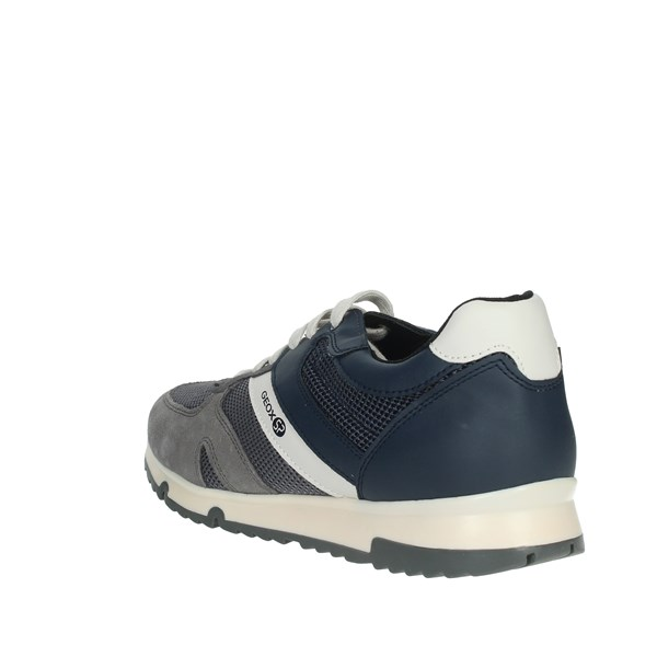 Geox Shoes Sneakers Blue/Grey U923XB