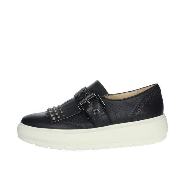 Geox Shoes Sneakers Black D92AND