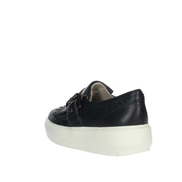 <Geox Shoes Sneakers Black D92AND