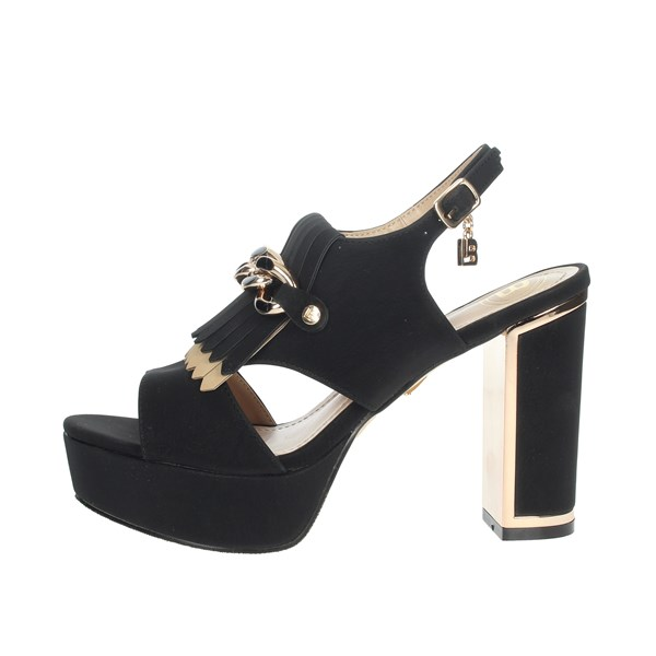 Laura Biagiotti Shoes Sandal Black 5475