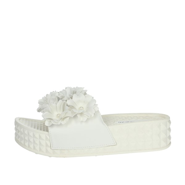 Laura Biagiotti Shoes Clogs White 5409