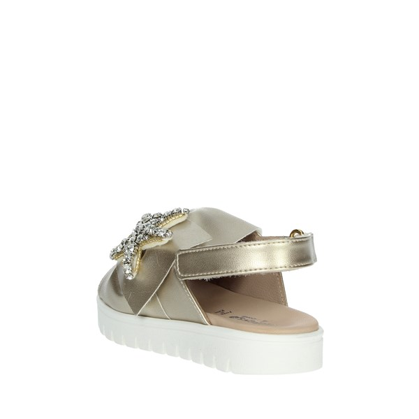 Florens Shoes Sandal Gold W0885