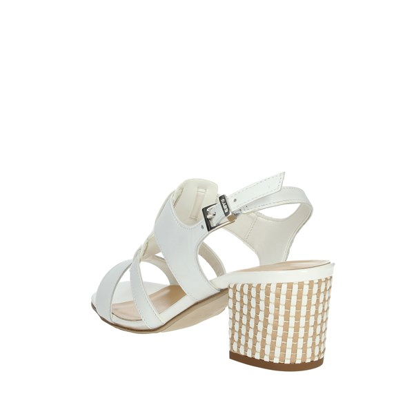 Keys Shoes Sandals White 5711