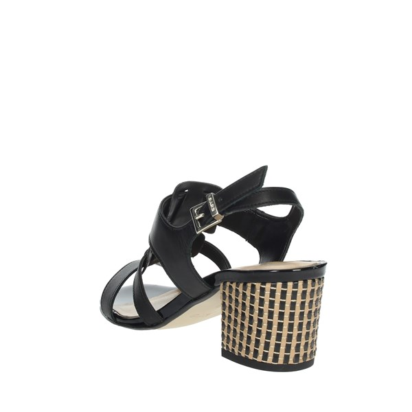 Keys Shoes Sandals Black 5711
