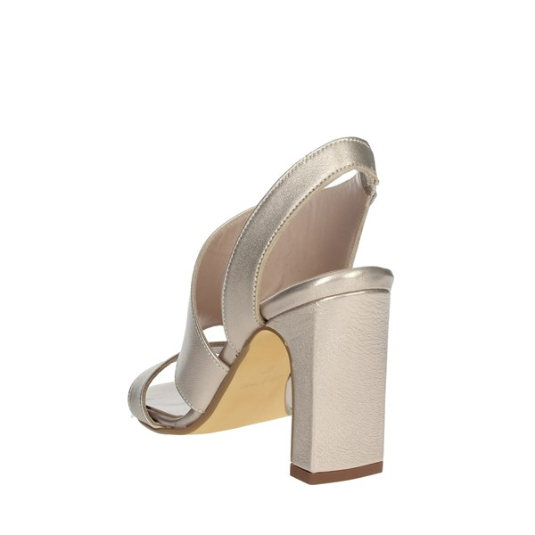 Paola Ferri Shoes Sandals Platinum  D5244
