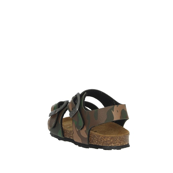 Grunland Shoes Sandal Dark Green SB0383-40
